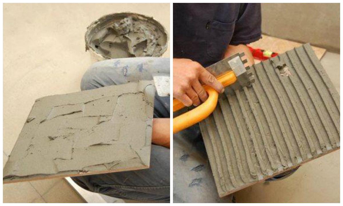 Как сделать раствор для плитки на пол