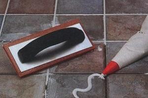 Заделка швов клеем для плитки