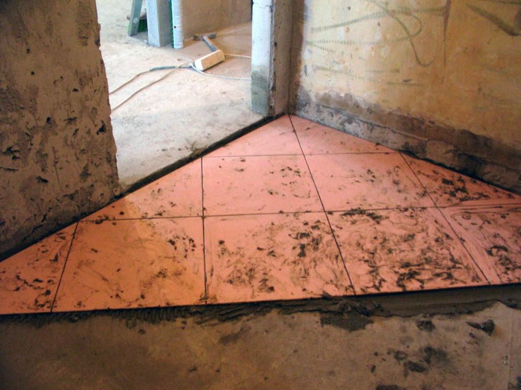 Как очистить старую плитку от цементного раствора пневмовибраторы для бетона