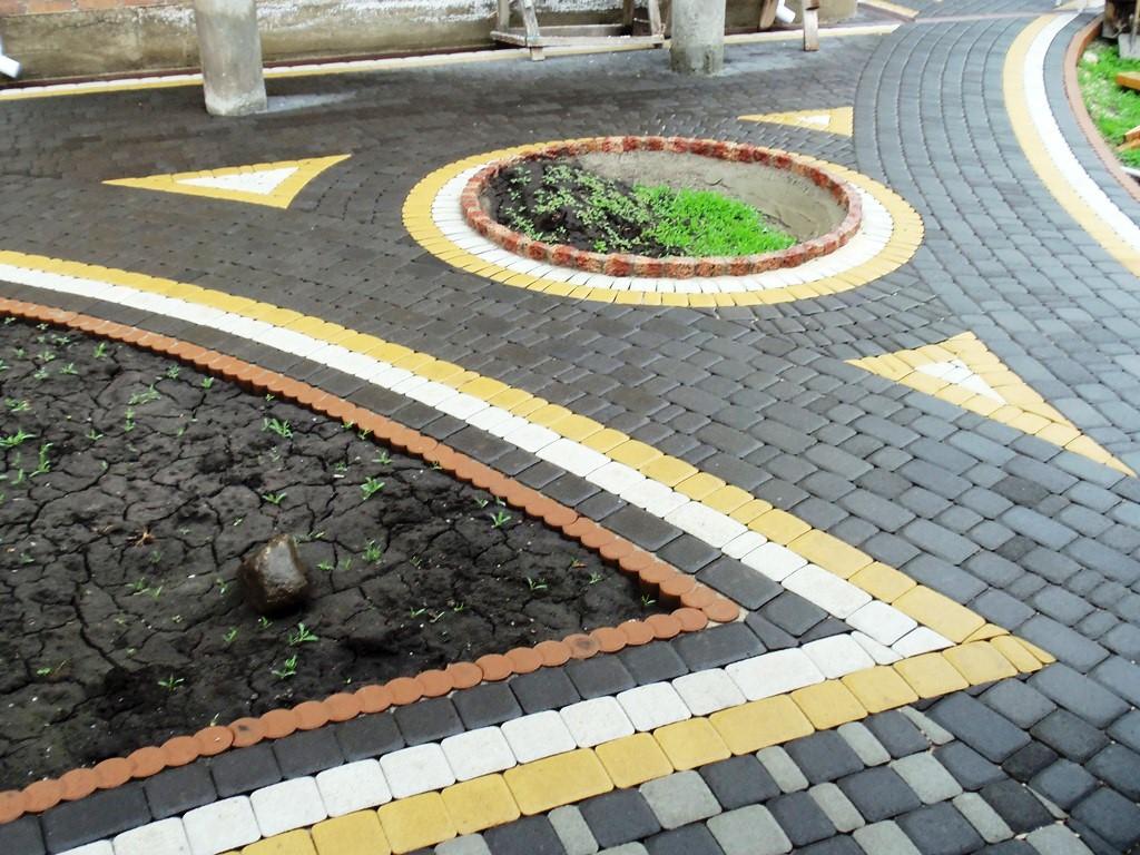 Укладка тротуарной плитки своими руками пошаговая фото 712