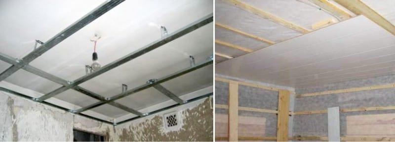 Как сделать навесные потолки из пластика своими руками