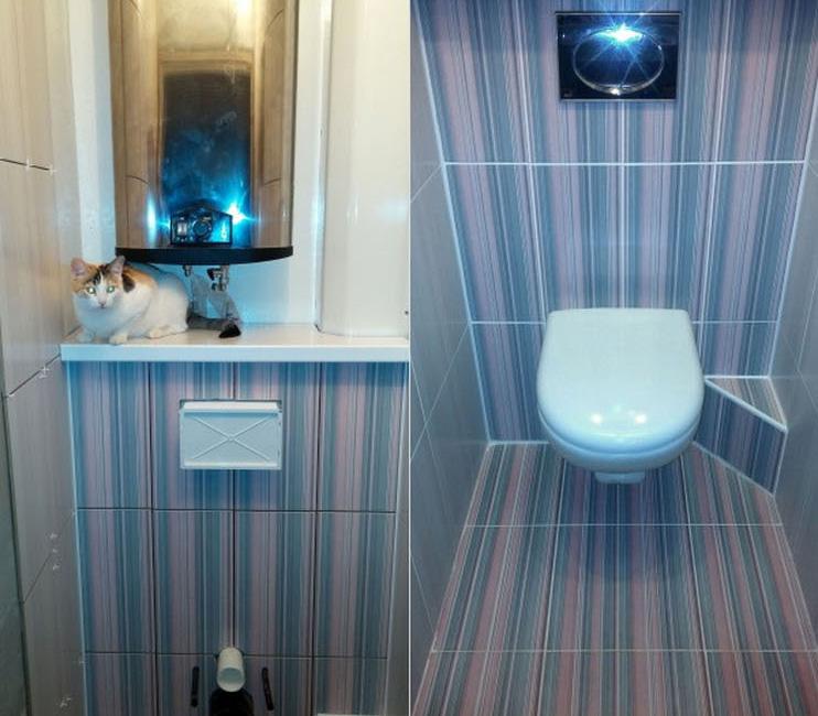 Отделка туалета пвх панелями дизайн